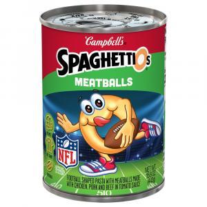 Campbell's NFL Spaghettios Meatballs