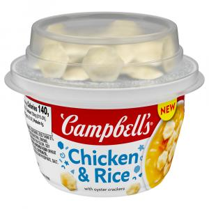 Campbell's Chicken & Rice with Original Goldfish Crackers
