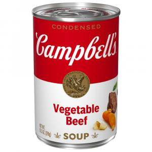 Campbell's Red & White Vegetable Beef Soup