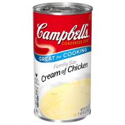 Campbell's Family Size Cream of Chicken Soup