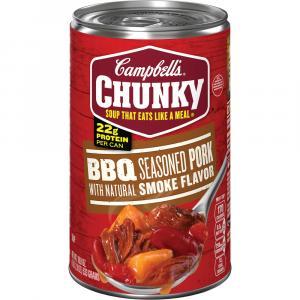 Campbell's Chunky Bbq Seasoned Pork Soup