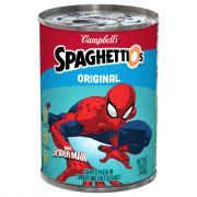 Campbell's Spiderman SpaghettiOs