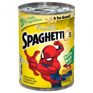 Campbell's Spiderman SpaghettiOs
