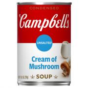 Campbell's Unsalted Cream of Mushroom Soup