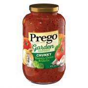 Prego Chunky Garden Tomato Onion and Garlic