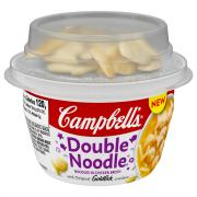 Campbell's Double Noodle with Original Goldfish Crackers