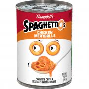Campbell's Spaghettios with Chicken Meatballs