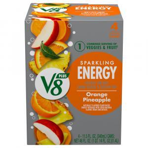 V8 Sparkling Energy Orange Pineapple