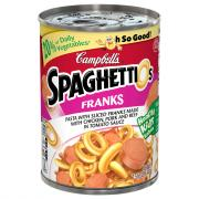 Campbell's SpaghettiOs with Sliced Franks