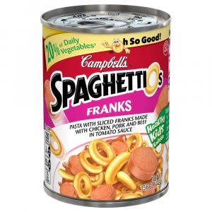 Campbell's SpaghettiOs with Sliced Franks