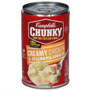 Campbell's Chunky Chicken & Dumpling Soup