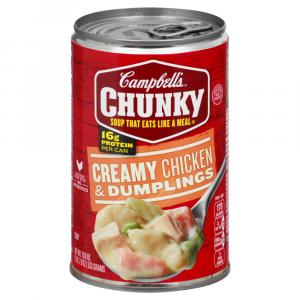 Campbell's Chunky Chicken & Dumpling Soup