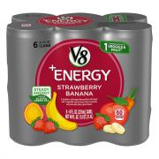 Campbell's V8 +Energy Strawberry Banana