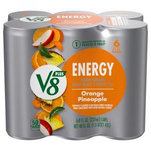 V8 V-fusion +energy Orange Pineapple
