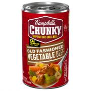 Campbell's Chunky Old Fashioned Vegetable Beef Soup