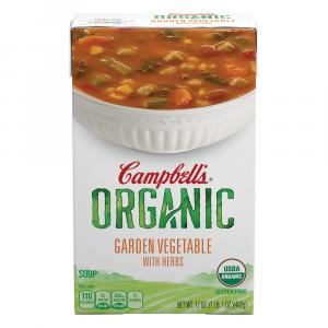 Campbell's Organic Garden Vegetable With Herbs Soup