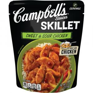 Campbell's Skillet Sauces Sweet & Sour Chicken