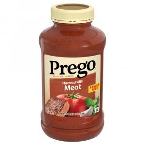 Prego Meat Spaghetti Sauce
