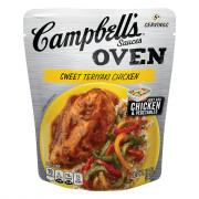 Campbell's Oven Sauces Sweet Teriyaki Chicken