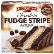 Pepperidge Farm Chocolate Stripe Layer Cake