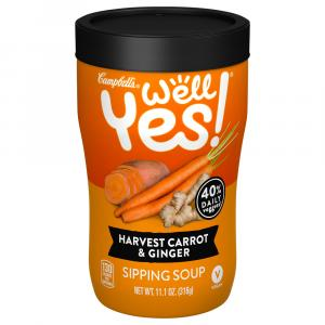 Campbell's Well Yes Harvest Carrot & Ginger Sipping Soup