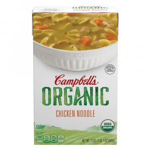 Campbell's Organic Chicken Noodle Soup