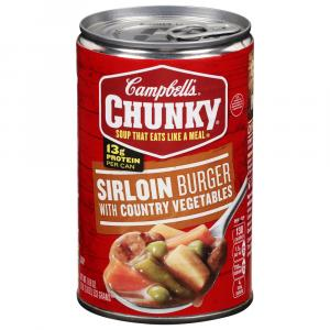 Campbell's Chunky Sirloin Burger Soup