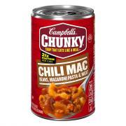 Campbell's Chunky Chili Mac Beans, Macaroni Pasta & Meat
