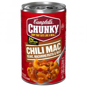 Campbell's Chunky Chili Mac Beans, Macaroni Pasta & Meat