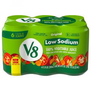 Campbell's V8 Low Sodium Vegetable Juice