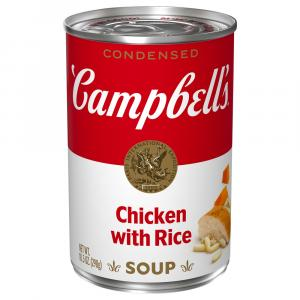 Campbell's Chicken w/Rice Soup