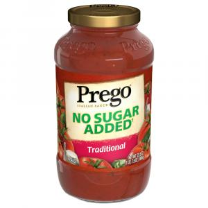 Prego No Sugar Added Traditional Sauce