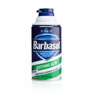 Barbasol Shaving Cream Soothing Aloe