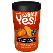 Campbell's Well Yes Butternut Squash & Sweet Potato Sip Soup