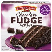 Pepperidge Farm Chocolate Fudge Layer Cake