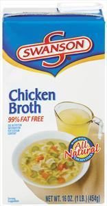 Swanson Natural Goodness Fat Free Chicken Broth