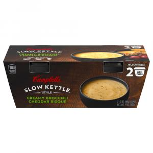 Campbell's Slow Kettle Style Creamy Broccoli Cheddar Bisque