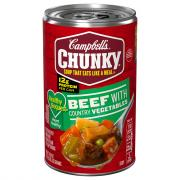 Chunky Healthy Request Beef with Country Vegetables Soup