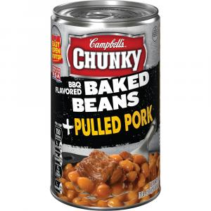 Campbell's Chunky Baked Beans With Pulled Pork