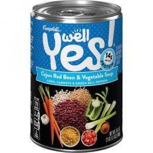 Campbell's Well Yes Cajun Red Bean & Vegetable Soup