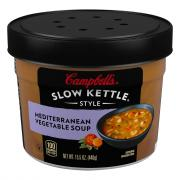 Campbell's Slow Kettle Mediterranean Style Vegetable Soup