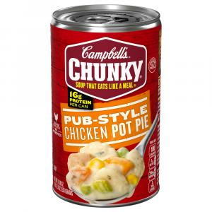 Campbell's Chunky Pub-Style Chicken Pot Pie