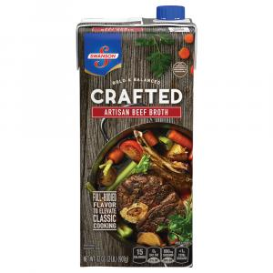 Swanson Crafted Artisan Beef Broth
