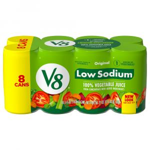 Campbell's V8 Vegetable Juice Low Sodium