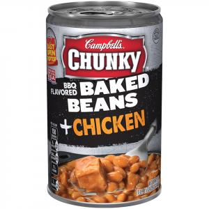 Campbell's Chunky Baked Beans With Chicken