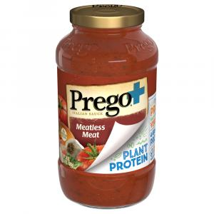 Prego Meatless Meat Plant Protein Italian Sauce