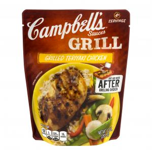 Campbell's Grilled Teriyaki Chicken Grill Sauce