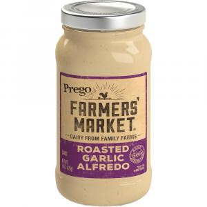 Prego Farmers' Market Roasted Garlic Alfredo Sauce