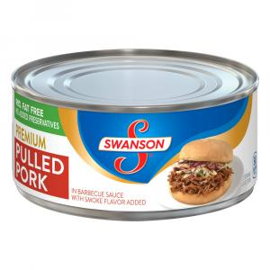 Swanson Premium Pulled Pork In Barbecue Sauce