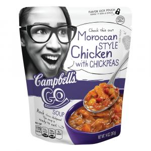 Campbell's Moroccan Style Chicken Soup Go Soup